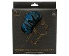 Black Shower Cap (microfibre Lined) 5