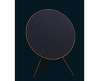 Bang & Olufsen Beoplay A9 4th Gen. Stardust Blue Limited Edition, with Smoked Oak Legs and Brass Tone Aluminium Ring 5