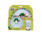 Very Hungry Caterpillar 3pc Dinner Set 2