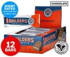 12 x CLIF Builders Protein Bars Chocolate 68g 1