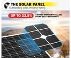 ATEM POWER 500W 12V Mono Solar Panel Kit Caravan Power Battery Charging Pair 250w 3