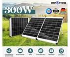 ATEM POWER 300W 12V Folding Solar Panel Kit Mono Portable Battery Charge Camping Carry Bag 2