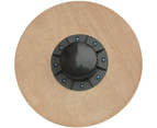 "Heavy Duty 15.5"" Wooden Balance Board with Non-Slip Pad Fitness 5"