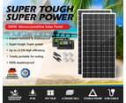 ATEM POWER 500W 12V Mono Solar Panel Kit Caravan Power Battery Charging Pair 250w 2