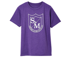 S&M BMX Shirt - Kids Big Shield T-Shirt - Purple Rush - Various Sizes - Purple 1
