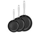 Tramontina - 3Pc Non-Stick Grano Frying Pan Set - 20cm, 26cm and 30cm 1