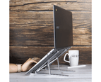 Portable Laptop & Tablet Stand | Pukkr Silver 2