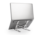 Portable Laptop & Tablet Stand | Pukkr Silver 5