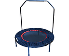 Mini Rebounder Trampoline With Handle Rail 1