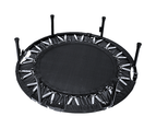Mini Rebounder Trampoline With Handle Rail 4