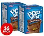 2 x 8pk Kellogg's Pop-Tarts Frosted Chocotastic 384g 1