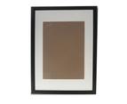 "Picture Frame Mat Border For 12x18"" Photo Black 1"