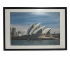 """For 20x30"""" Photo -Picture Frame Black With Mat Border 1"""