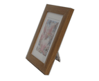 "Picture Frame Mat Border For 3.5x5"" Photo Timber 1"