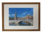 """Picture Frame Mat Border For 11x14"""" Photo Timber 1"""