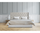 Bed Frame and Mattress Bundle in Super King, King or Queen Size - Milano Royale 1