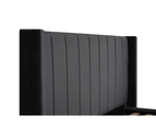 Bed Frame and Mattress Bundle in Super King, King or Queen Size - Mayfair Velvet Charcoal 3