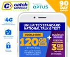 Catch Connect 90 Day Mobile Plan - 60GB 1