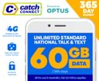 Catch Connect 365 Day Mobile Plan - 60GB 1