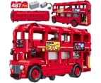 Creator Electric Double Decker Bus Red Bus Building Blocks 1