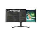 LG 35WN75C-B 35in HDR10 Curved QHD Monitor 1