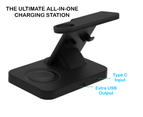 The Ultimate 5-in-1 Wireless Charging Docking Station 6