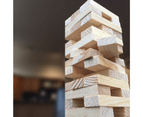 Wooden Tumbling Tower 2