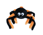 Zippy Paws Grunterz Dog Toy - Orange Spider 1