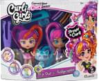 SilverLit Curli Girls Doll and Pet Twinset - Pop Star and Fashionista 4