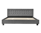 Grayson Bed Frame in Super King, King or Queen Size 2