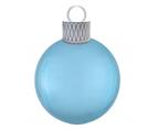 Christmas Pastel Blue Orbz Ornament Foil Balloon Kit 1