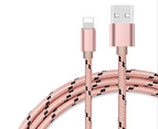 Universal Lightning Connector Cables for iPhone for ipad-Rose gold 2