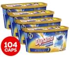 4 x 26pk Dynamo Professional 7 in 1 Laundry Detergent Dual Capsules 1