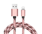 Five Pack of Braided Universal Lightning Cables for iPad or iPhone 3
