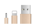 Five Pack of Braided Universal Lightning Cables for iPad or iPhone 5