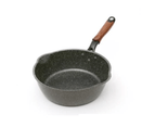 Justcook Stone Non-stick Marble Wok Frying Pan 24cm / 26cm 1