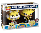 Funko POP! Sonic The Hedgehog Super Tails & Super Silver Limited Edition 2