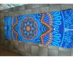 6mm Thick Mandala Pattern Suede Tpe Non-Slip Yoga Mat Home Fitness Equipment 6