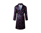 Adelaide Crows Adults Satin Robe 1