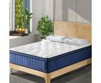 Cool Gel Memory Foam Mattress 5 Zone Latex 34cm King Single Bed Furniture 1