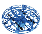 Drones Gesture Controlled Mini Drone Mini Ufo Drone Helicopter Indoor Sensing Surround Fly Aircraft - Blue 1