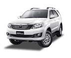 Snap Shades for Toyota Fortuner 1st Generation | Hilux SW4 | SW4 Car Window Sun Shades (AN50,AN60; 2004-2015) | GENUINE 2