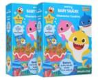 2 x 8pk Baby Shark Character Cookies 200g 1