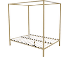 4 Four Poster Queen Bed Frame 4