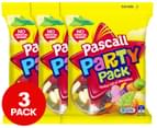 3 x Pascall Party Pack 240g 1