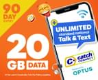 Catch Connect 90 Day Mobile Plan - 20GB 1