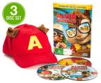 Alvin & The Chipmunks DVD 3-Disc Movie Set (G) 1