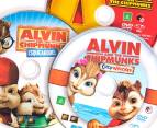 Alvin & The Chipmunks DVD 3-Disc Movie Set (G) 2