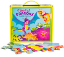 Playful Dragons Floor Puzzle 4