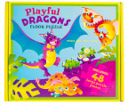 Playful Dragons Floor Puzzle 2